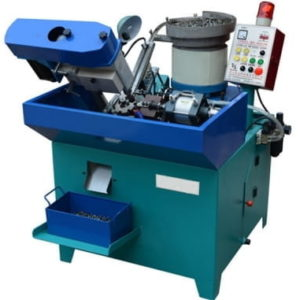 Single Axle Cap Shape Full Automatic Nut Tapping Machine