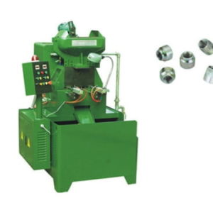 Round Nuts Two Spindles Full Automatic Nut Tapping Machine