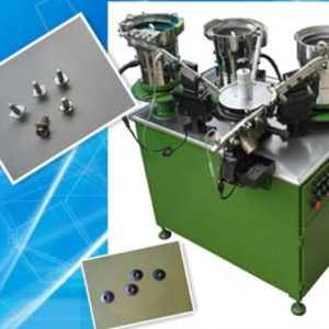 Screw washer automatic assembly machine for thread rolling machine