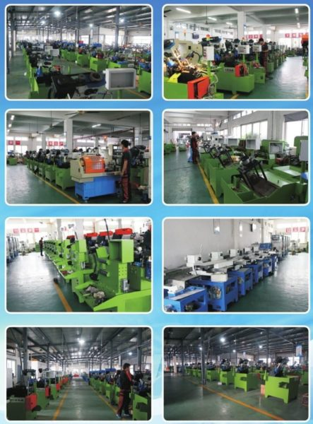 Four Spindle Full Automatic Nut Tapping Machine stucture and workshop