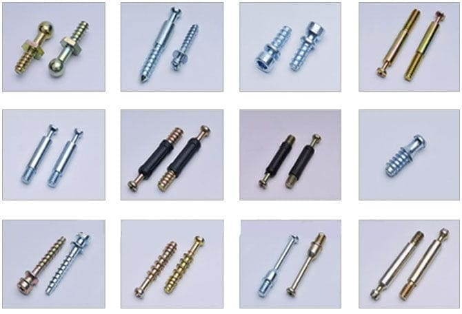 Open Closed Die Forging Machine forged screws