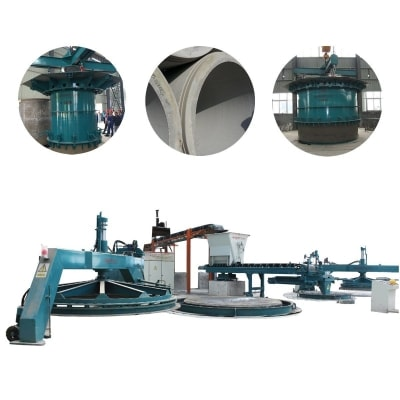 PCCP Production Machine