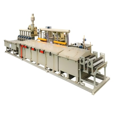 No pickling wire phosphating production line