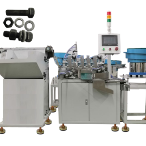 Bolt screw washers nut fasten assembling machine