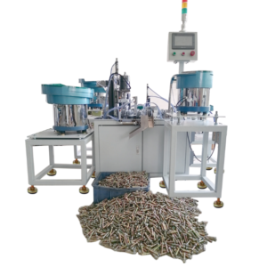 Sleeve anchor fasteners automatic assembly machine